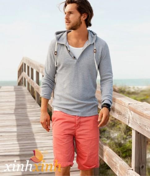 Áo thun pull nam đẹp phong cách manly trẻ trung cá tính thời trang hè 2016