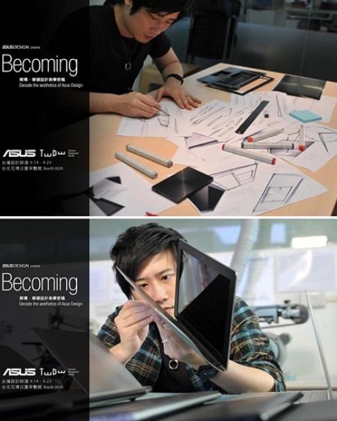 Asus Zenbook UX301 mang cam hung thiet ke tu dong ho deo tay cao cap
