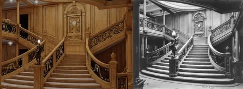 Ben trong con tau ban sao cua Titanic