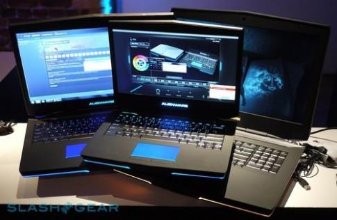 Bo ba laptop choi game 'khung' cua Alienware