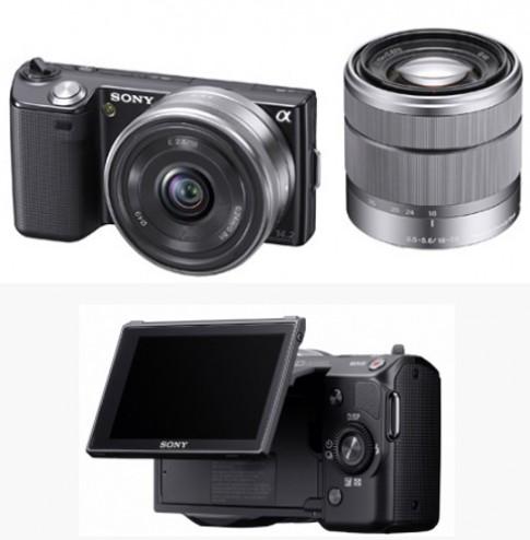 Camera khong guong lat cua Sony gia 320 USD