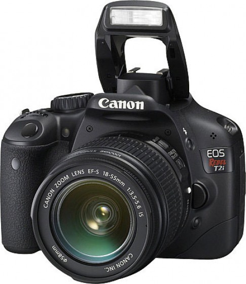 Canon 550D cho chat anh ngang ngua 7D