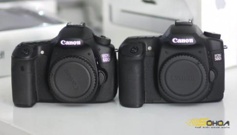 Canon 60D so dang voi 'dan anh' 50D