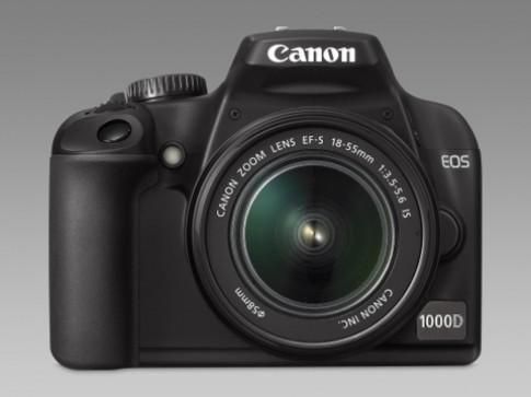 Canon cap nhap firmware cho EOS 1000D