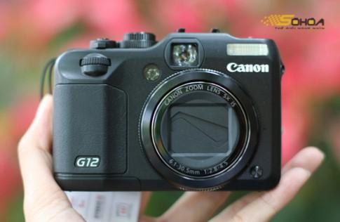 Canon G12 gia gan 11 trieu tai VN