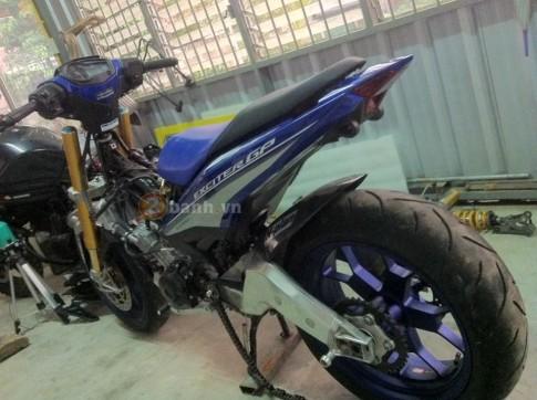 [Cap nhat] Can canh qua trinh do Exciter 150 do dan chan PKL cua biker nuoc ban