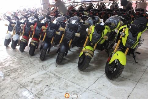 Chi tiết Honda MSX 125 2016 đầu tiên tại Việt Nam với giá hơn 80 triệu Đồng
