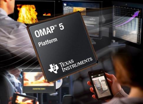 Chip OMAP 5 loi kep nhanh gap doi Tegra 3 loi tu