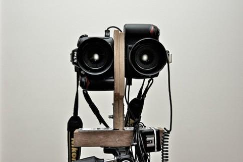 Chup anh 3D voi hai chiec Nikon D90