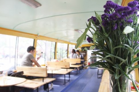 Cuc la quan bus cafe tai Ha Noi
