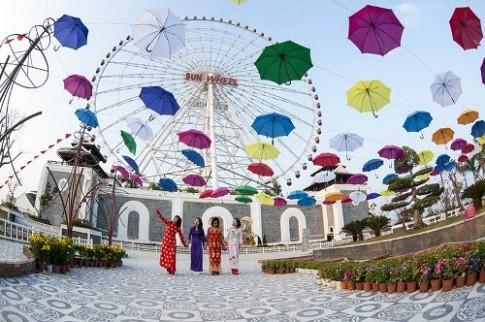 Đà Nẵng: Du ngoạn thế giới qua Lễ hội hoa xuân dịp Valentine và Tết