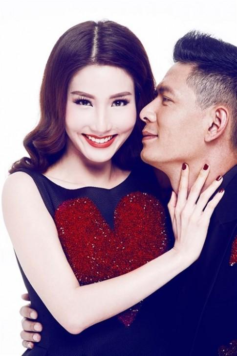 Diem My, Binh Minh ke chuyen tinh yeu voi hoa tiet trai tim