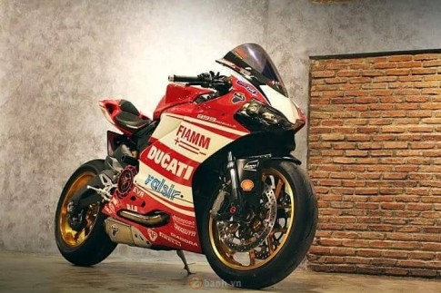 Ducati 899 Panigale cuc chat trong ban do den tu G-Force