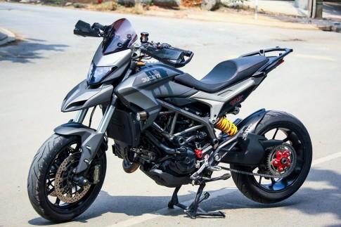 Ducati Hyperstrada voi bo canh son tem dau sieu ngau cua biker Sai Gon