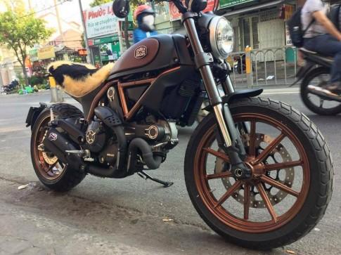 Ducati Scrambler độ theo phong cách phiên bản đặc biệt Italy.