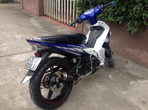 Exciter 135 2010 do dan chan Exciter 150 cua biker Ha Noi