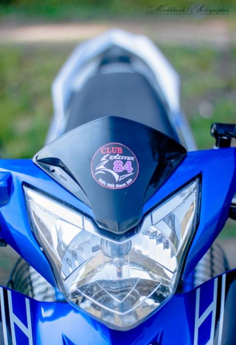 Exciter do nhe cua 1 biker Club Anh Em 84