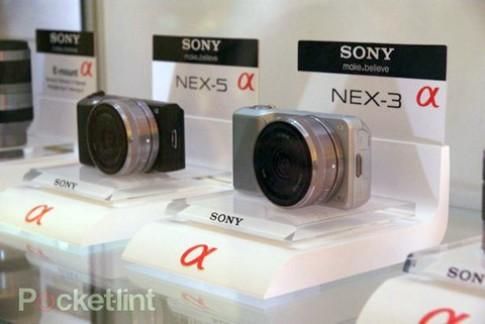 Goc nhin thuc te Sony NEX 3, NEX 5