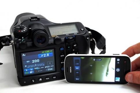 Hai camera 40 'cham' so tai chup anh