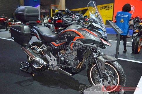 Honda CB500X H2C 2016 phien ban dac biet cua mau Adventure tam trung