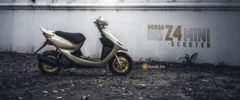 Honda Dio Z4 day phong cach va ca tinh cua biker Thai Lan