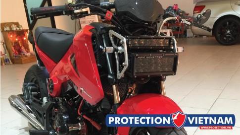 Honda Msx độ đèn led siêu ngầu