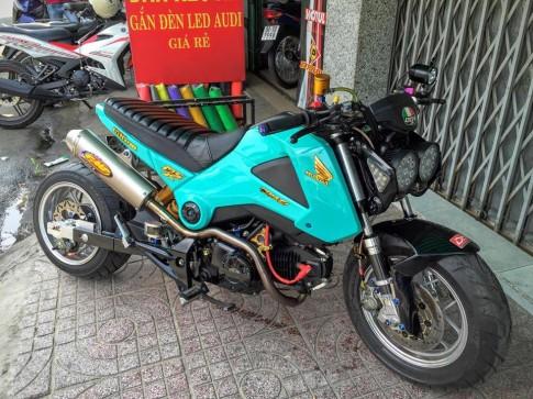 Honda MSX do doc dao day phong cach cua biker Viet