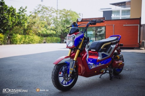 Honda Zoomer-X do noi bat voi phien ban Transformer