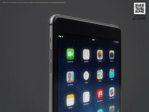 iPad Air 2 cung iPad Mini voi thiet ke... iPhone phong to