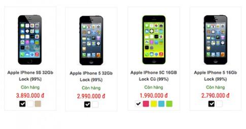 iPhone 5c gia 2 trieu dong tran ve Viet Nam