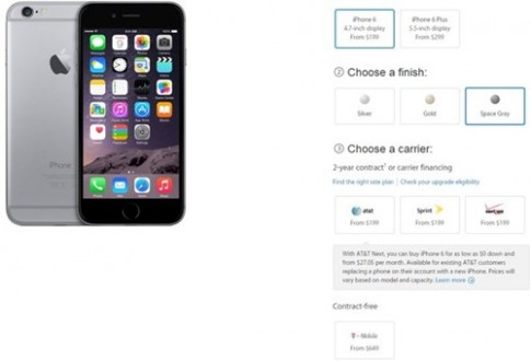iPhone 6 ban quoc te se co gia thap nhat la 13,5 trieu VND