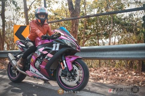 Kawasaki Ninja ZX-10R 2016 mau hong noi bat cua nu biker