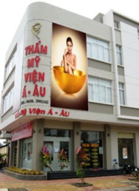 Khai truong tham my vien hang dau tai Binh Duong