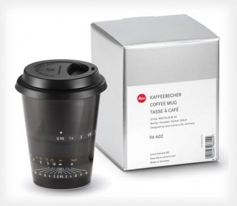 Leica ban ca coc cafe hinh ong kinh