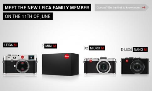 Leica Mini M - doi thu Sony RX1 se ra mat ngay 11/6