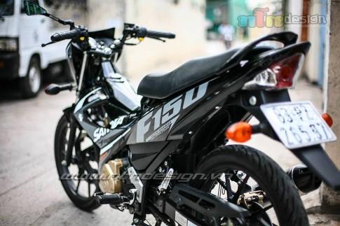 Len tem Satria F150 FI cho suzuki raider cuc ngau