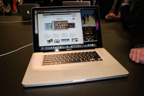 MacBook Pro moi co the ra mat tuan sau