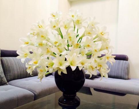 Nhung binh hoa dep cua nguoi me tre o Ha Noi