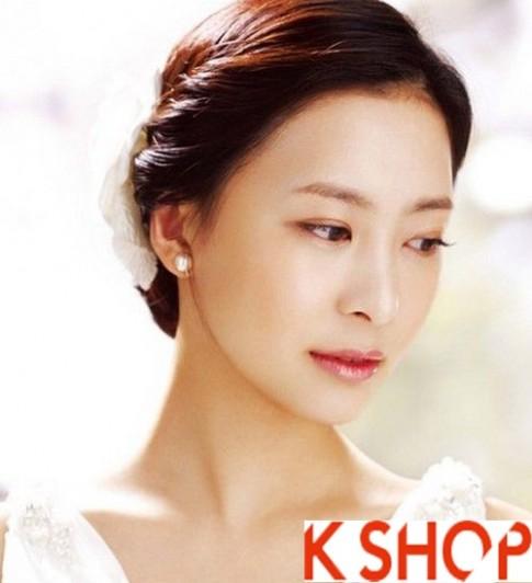 Những kiểu tóc tết cô dâu đẹp các sao Hàn Quốc 2016