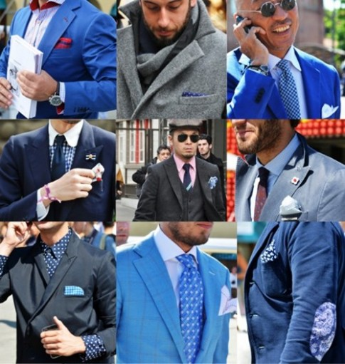 Pocket square: 4 kieu gap khan tui lich lam