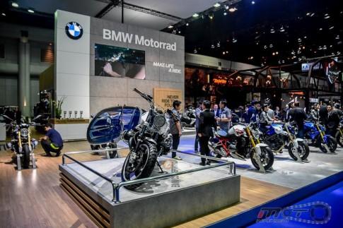 R Nine T Scrambler con át chủ bài của BMW tại triển lãm Bangkok Motor Show 2016
