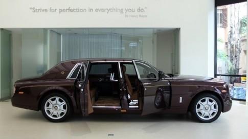 Rolls-Royce gioi thieu chiec xe duy nhat the gioi tai Ha Noi