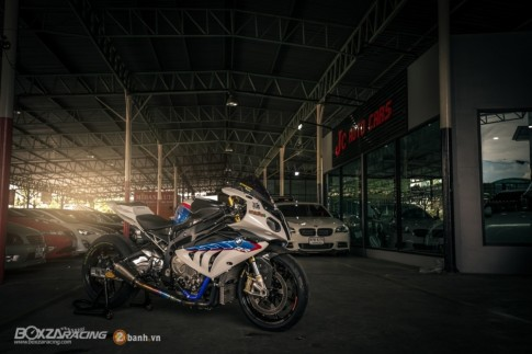 Sieu ca map - BMW S1000RR do phong cach Dragbike