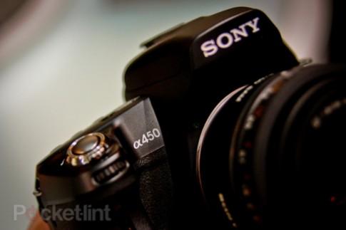 Sony Alpha A450 từ mọi góc cạnh