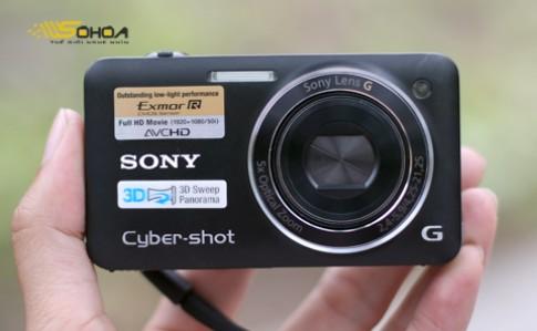 Sony Cybershot WX5 chup anh 3D