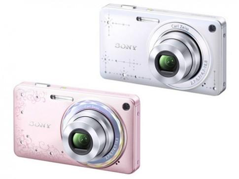 Sony gioi thieu DSC-W350D cho phai dep