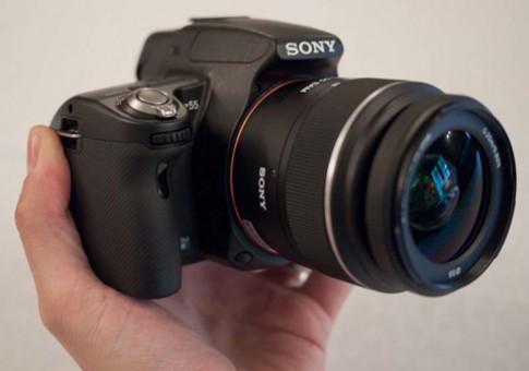 Sony 'khai tu' Alpha A55