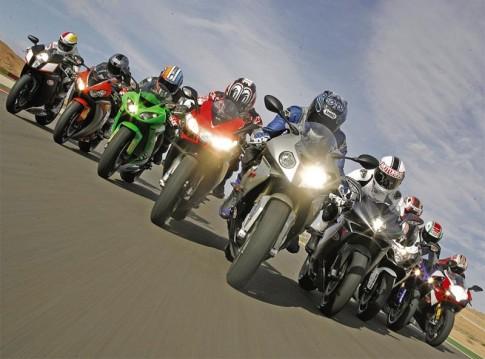Su khac nhau giua Sport Bike, Super Sport va Super Bike