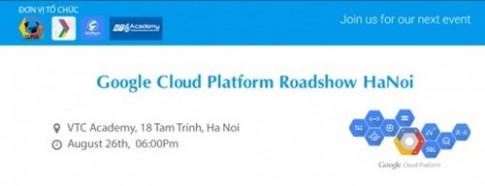 Su kien Google Cloud Platform sap dien ra tai Ha Noi