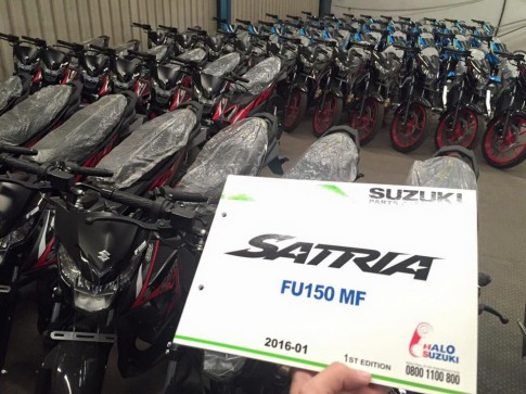 Su that Suzuki Satria F150 Fi 2016 ve so luong lon